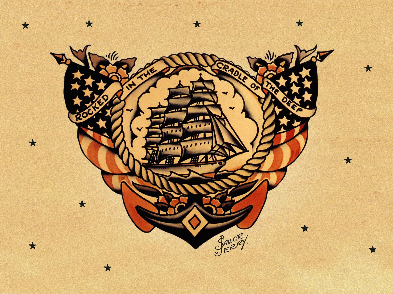 sailor jerry | Sailor Jerry | Going General: My Frequency of Desire ...