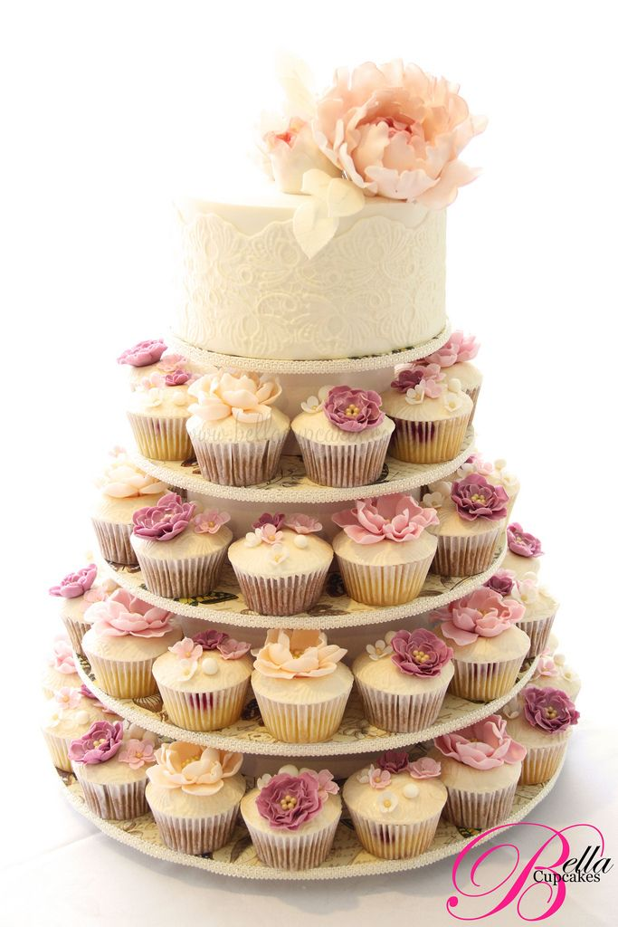 Vintage Lace Bella Cupcakes Handcrafted Pinterest