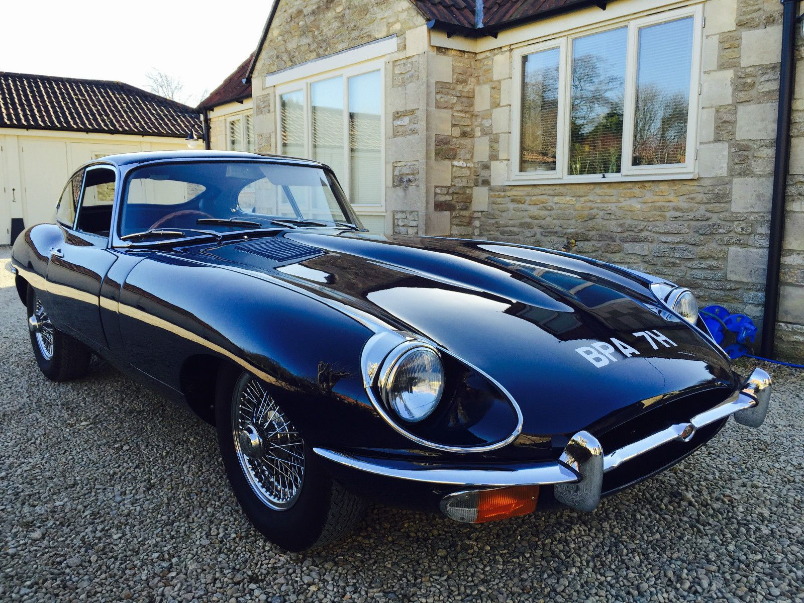 1969 e type jaguar 4 2 coupe manual 2 seater ebay cars. Black Bedroom Furniture Sets. Home Design Ideas