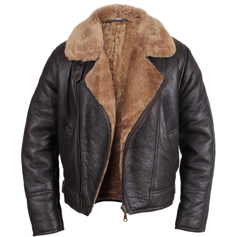 Men's Shearling Sheepskin Jacket - Warid | Men's Jackets and Coats ...