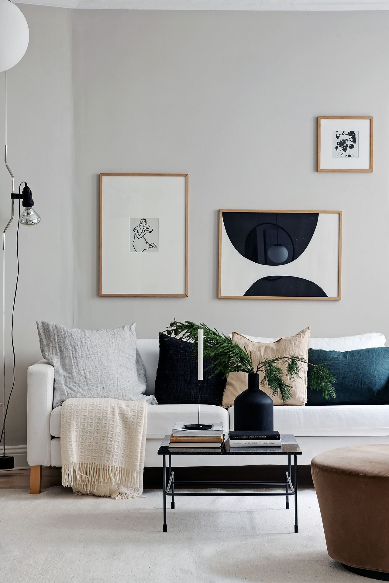 Looking for a trendy new art print? Check out the curated collection from The Poster Club! Styling by@greydecointeriors for @alvhem ⁠.⁠#art #artprint #tpc #theposterclub #interiordesign #nordicdecor #homestyling #artwall #picturewall