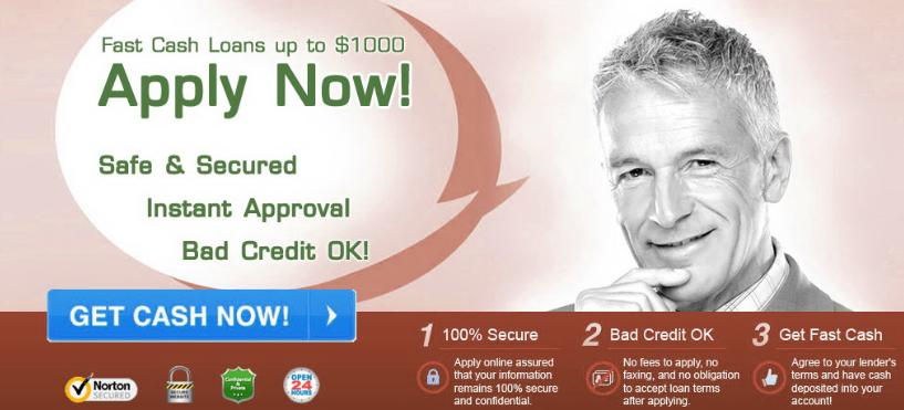 Borrow $1000 Cash Advance No Faxing