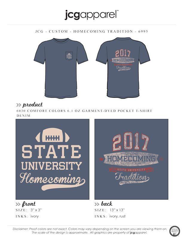 ab1b70d0 State University Homecoming Shirt #college #university #football  #homecoming #tradition | Sports | Custom design shirts, Greek clothing,  Sorority, ...