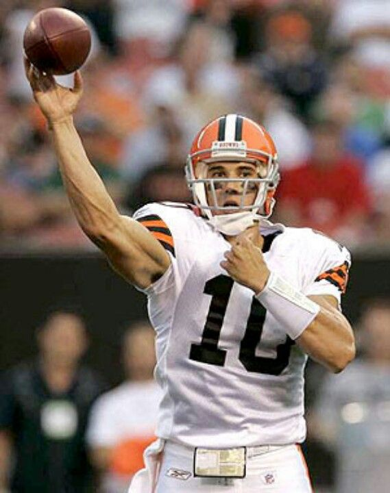 the best attitude 78718 a7236 Brady Quinn - Cleveland Browns | Cleveland Browns baby ...