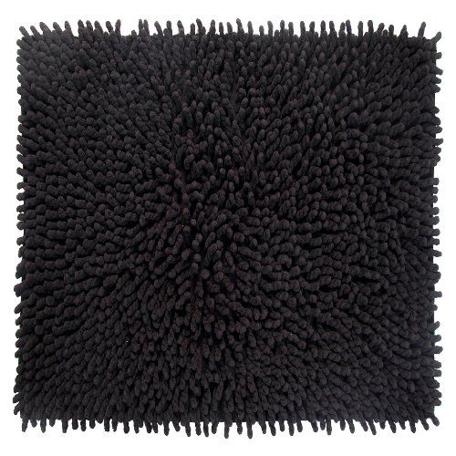 Charmant Bathroom Rugs Ideas | Better Trends Pan Overseas Loopy Chenille 210 GSF  100Percent Cotton Chenille HandWoven Luxury Bath Rug 24 By 24Inch Square Bu2026  ...