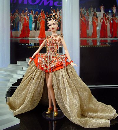 Today's #inspiraton is: MISS WORLD PAGEANTS a la BARBIE | 2013 nominees at www.ninimomo.com/2013dotwcurrentfinalstandings.htm