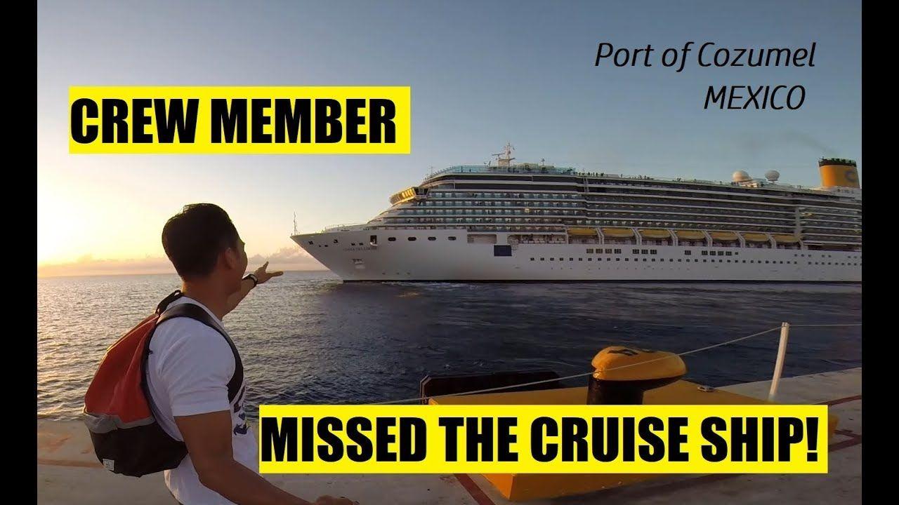 Cool CREW MEMBER NAIWAN NG BARKO SA COZUMEL MEXICO Buhay Sa - How many crew members on a cruise ship