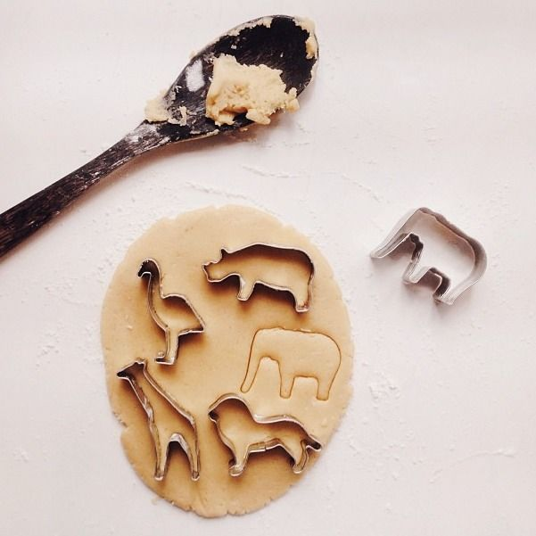 animal cookie, zoo, polenta,