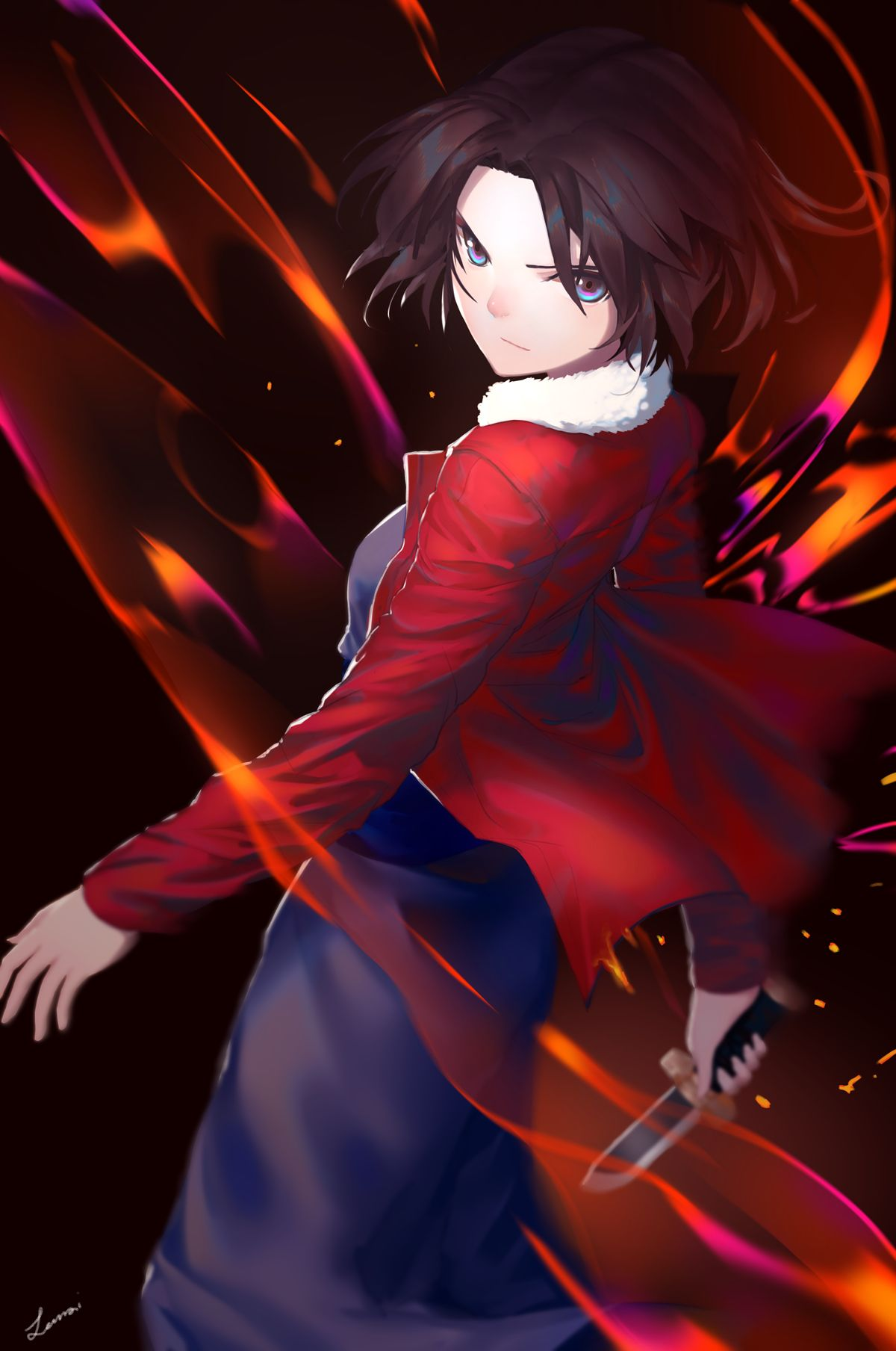 Pinterest Shiki, Fate anime series, Anime