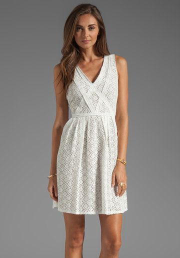 Marc By Jacobs Collage Lace Dress In Snow White From Revolveclothing On Wanelo