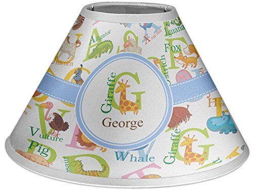 Animal alphabet coolie lamp shade personalized click image to animal alphabet coolie lamp shade personalized click image to review more details aloadofball Image collections