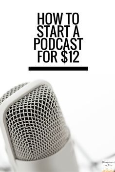 How to Start a Podcast for $12 — Ashleigh Blatt   Starting ...