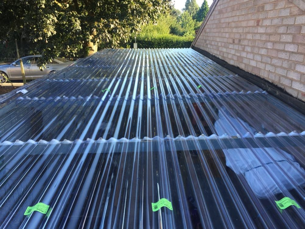 Wickes Pvcu Clear Corrugated Sheet 660 X 3000mm Wickes Co Uk Wickes Outdoor Decor Corrugated