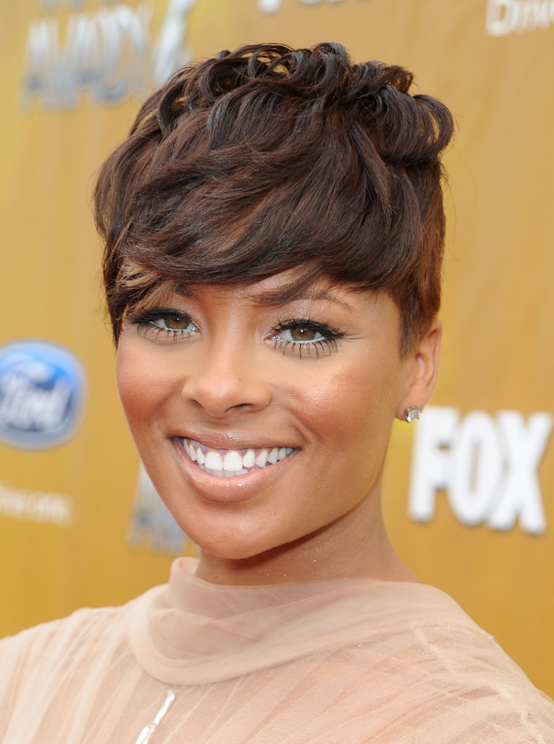 Eva pigford marcille st naacp image awards in la hair
