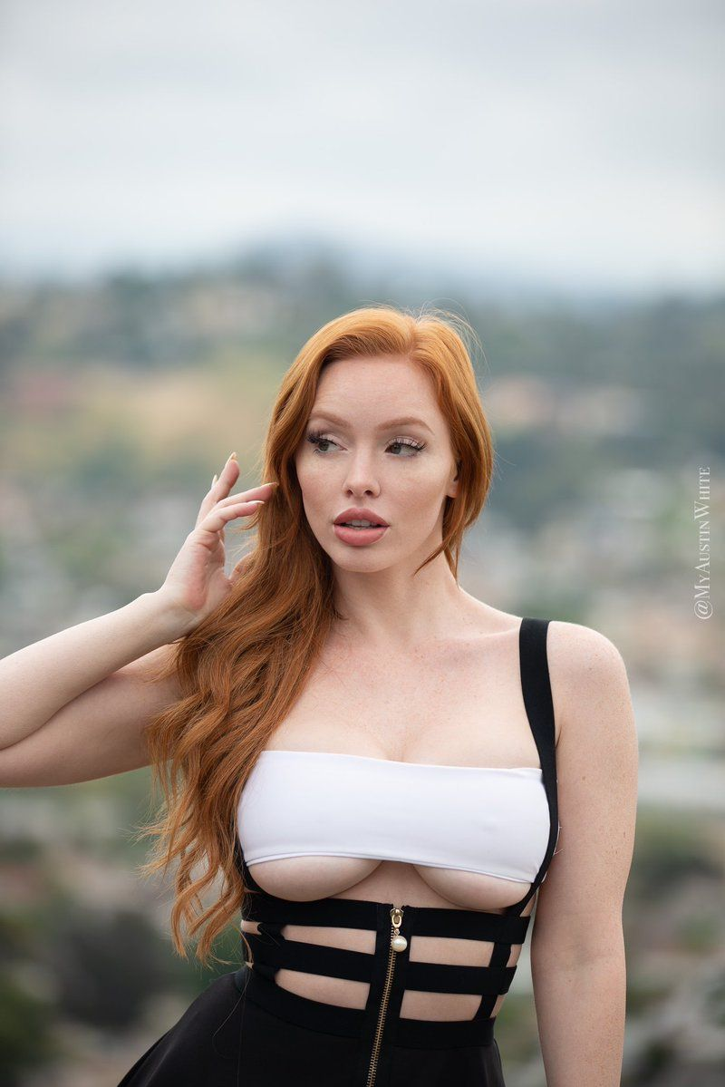 Twitter Austin White Beautiful Redhead Cool Girl