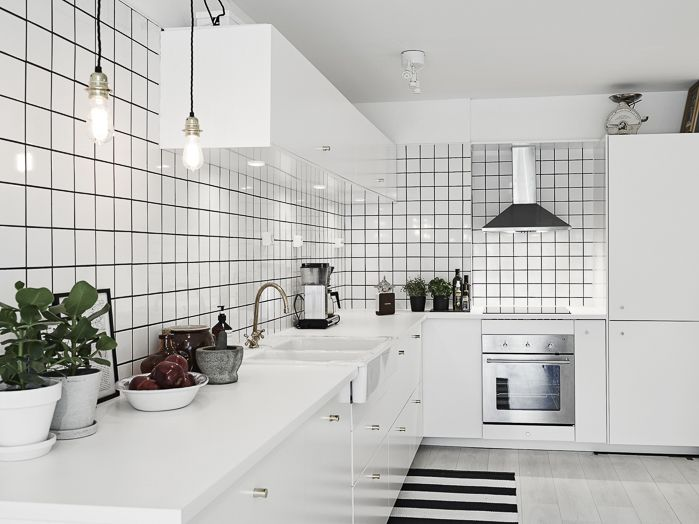DECO All in White #Kitchen #Cocina #Blanco DECO Pinterest