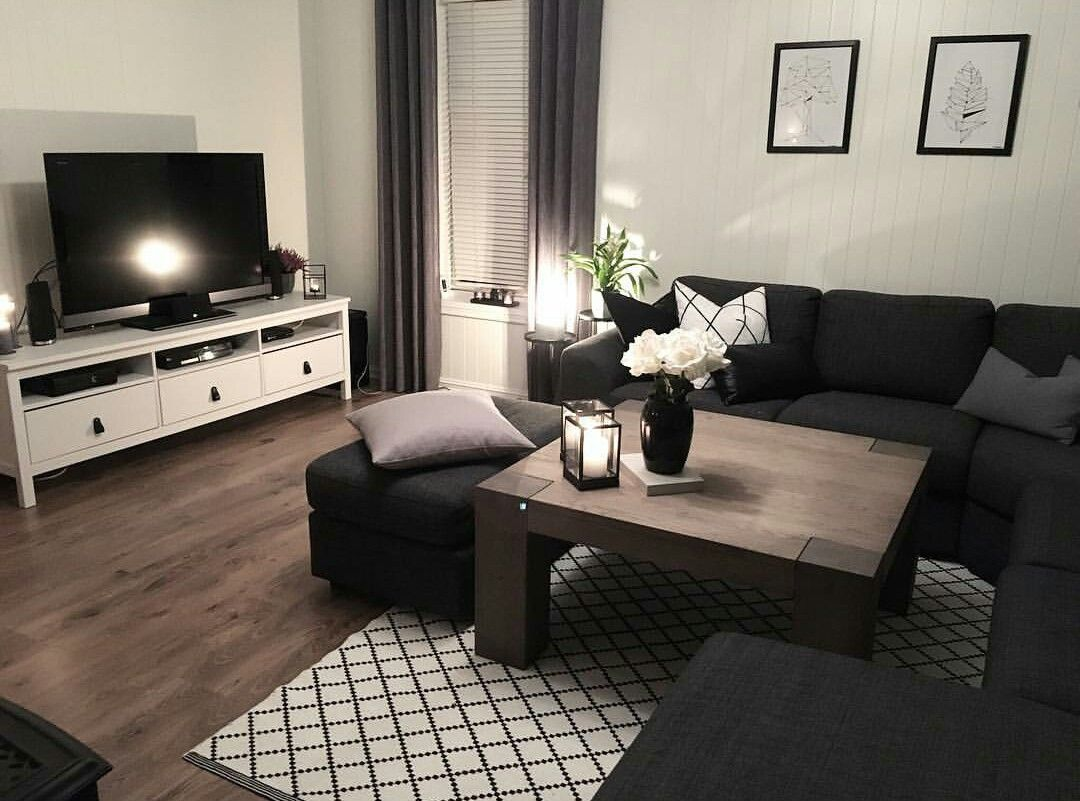 33+ Dark living room furniture info