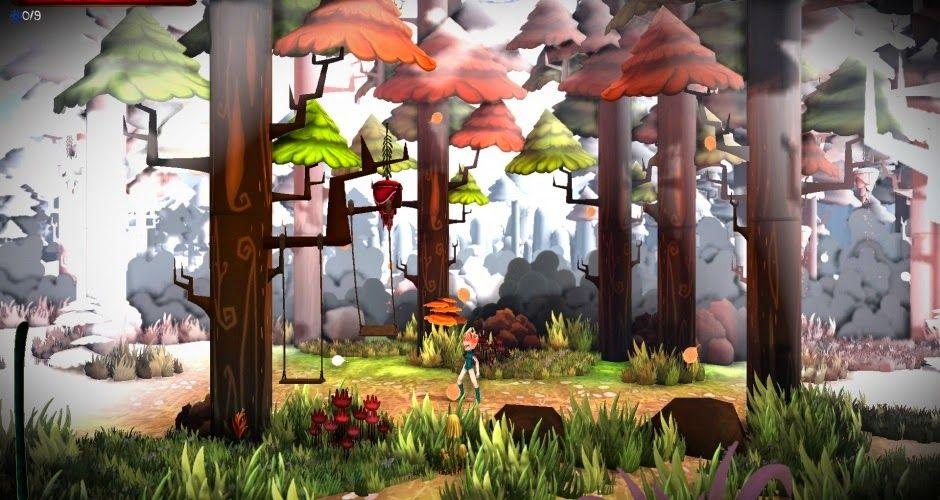 Gameplayaholic: Red Goddess: Inner World gameplay beelden [Wii U e...