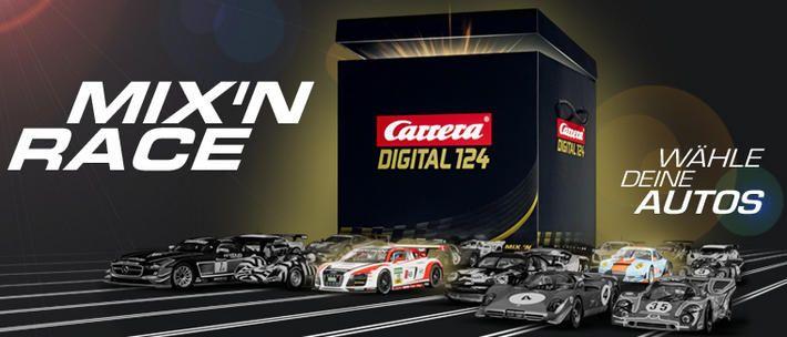 Carrera Digital 124 - Mix'n Race Set (90910) Freie Auto Wahl - Carrera Digital 124 - Mix'n Race Set (90910) #slotcar