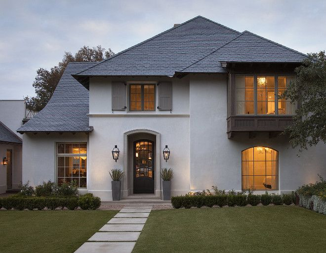 Grey Home With Slate Roof And Black Steel Front Door Greyhome Delectable Grey Home Interiors Exterior