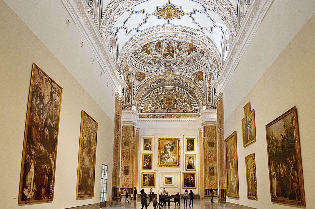 Descubre El Museo De Bellas Artes De Sevilla Y Date Otro Paseo Por El Arte Si Quieres Ver Una De Las Mejores Cole Bellas Artes Museo Bellas Artes Arte Español
