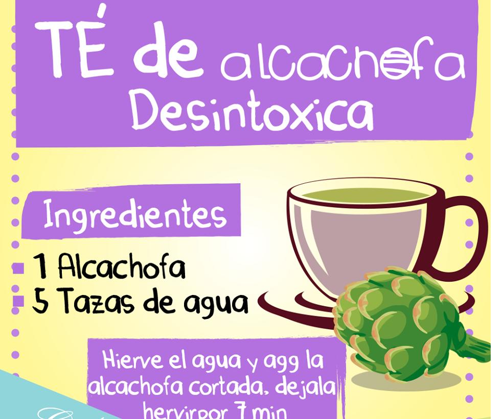 receta alcachofas para bajar de peso