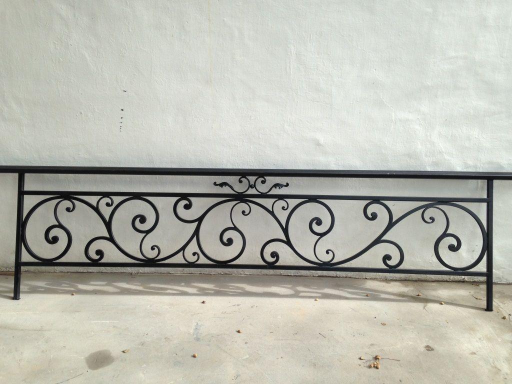 Baranda de hierro forjado pedro pinterest for Barandillas hierro forjado