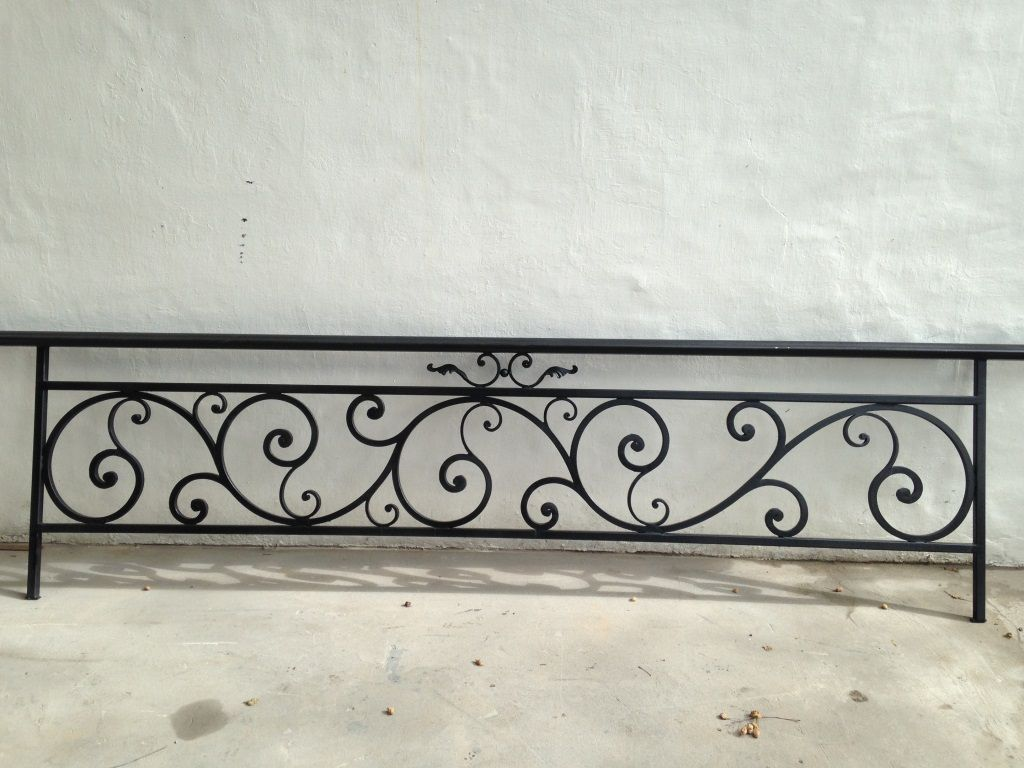 Baranda de hierro forjado herrería pinterest wrought iron