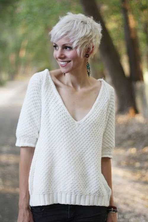 Wondrous 1000 Images About Cute Pixie Cuts On Pinterest Platinum Blonde Hairstyle Inspiration Daily Dogsangcom