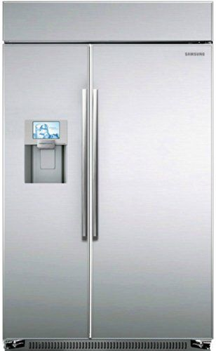 Samsung Rs27fdbtnsr Built In Side By Side Refrigerator 48 Inch Stainless Steel Side By Side Refrigerator Built In Refrigerator Counter Depth Refrigerator