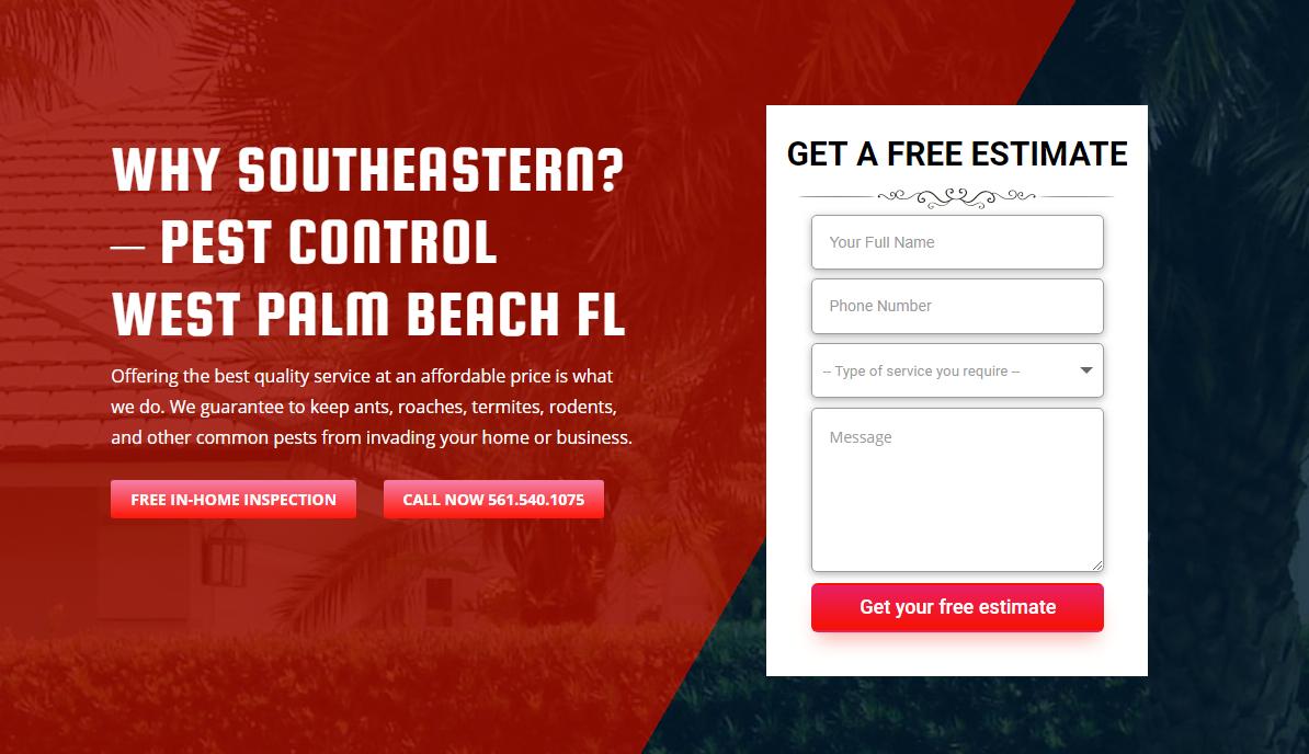 1 Pest Control Palm Beach Fl Free Estimates Pest Control