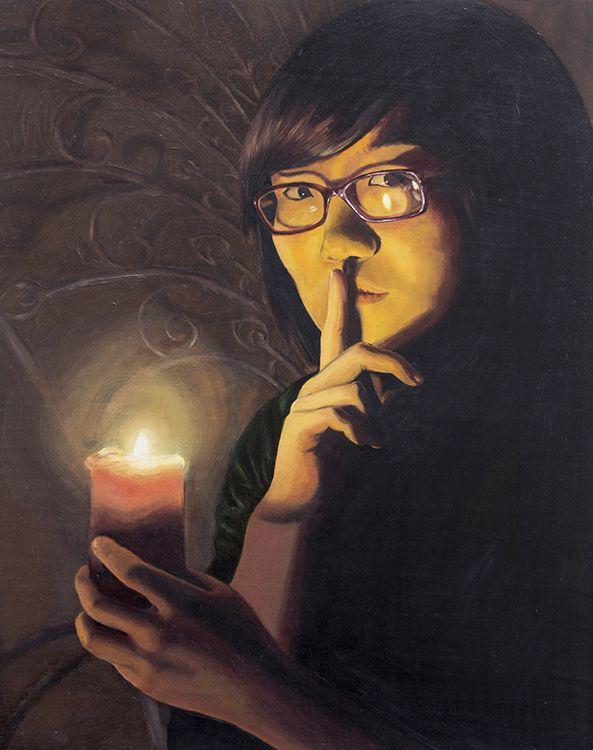 Portraits made by: Manuel Guzman - (shhh silence sign)