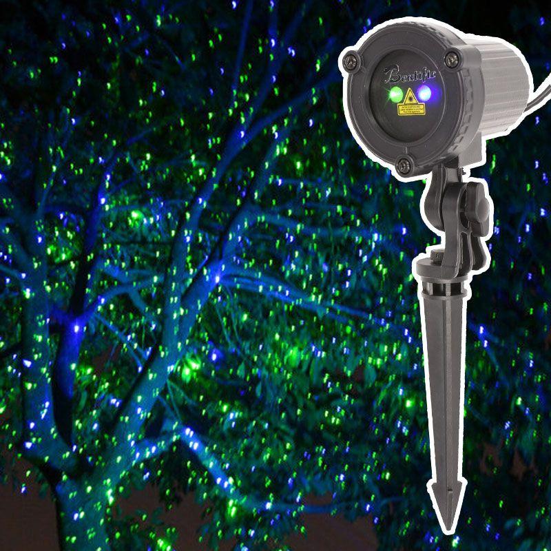 110v 240v Christmas Lights Outdoor Laser Projector Decorations For Home Green Blue Mix Static Twinkle Effect Waterproof Laser Christmas Lights Outdoor
