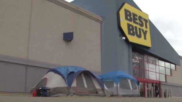 Black Friday 2013 Lines start forming at Best Buy & Black Friday 2013: Lines start forming at Best Buy | Black Friday ...