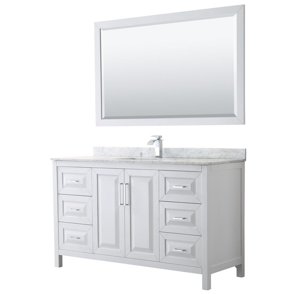 38+ White bathroom vanities 60 inch single sink ideas