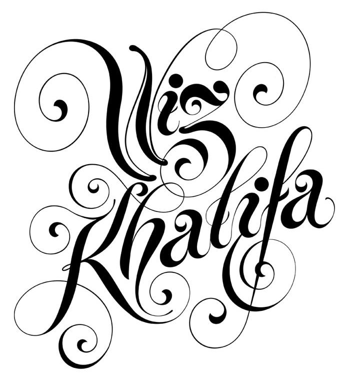 Alex Trochut S Polished Digital Lettering Work Typography The Wiz Custom Letters
