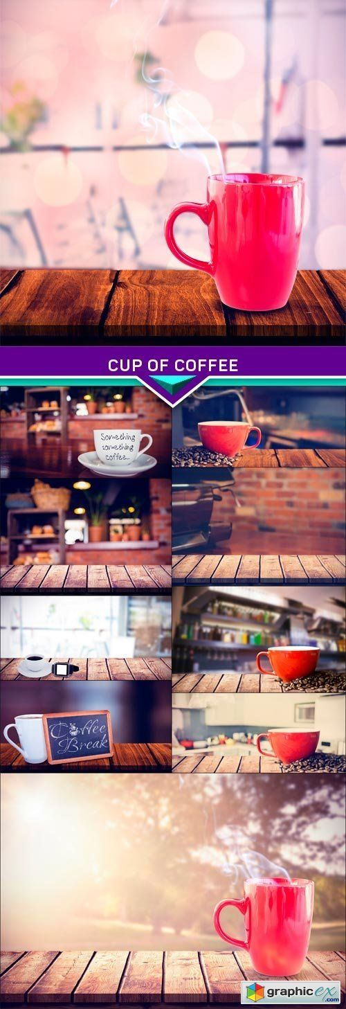 Сup of coffee blurred background 10x JPEG stock images