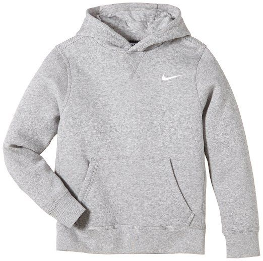 nike brushed sweat shirt capuche gar on dark grey. Black Bedroom Furniture Sets. Home Design Ideas