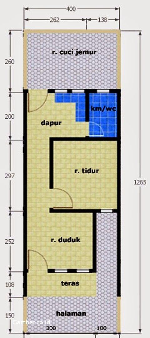 Concept Desain Rumah Petak Ukuran 4x6 Ruang Tamu Minimalis Ruang Tamu Minimalis