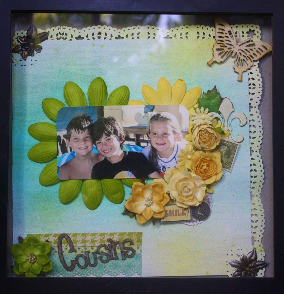 Hi! This is Custom Scrapbook Page. Please see my Etsy shop: ARTstandingdesigns.Etsy.com and see the pre-made and custom scrapbook pages I have for sale! Thanks for looking!