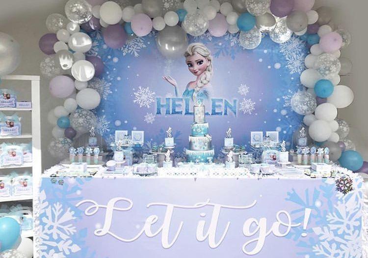 Frozen decorations Frozen party decorations, Frozen