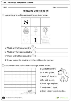 location and transformation worksheets year 1 fractions decimals and percentages. Black Bedroom Furniture Sets. Home Design Ideas