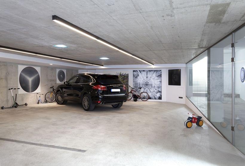 Ultra Modern House By Architektisk Slovakia R Garage Home Spa