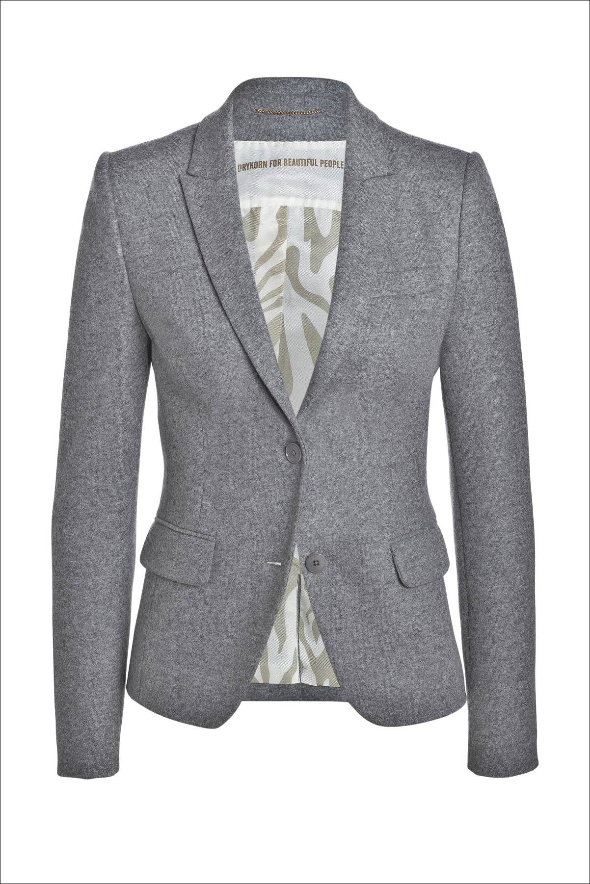Gray Blazer Womens Photo Album - Reikian
