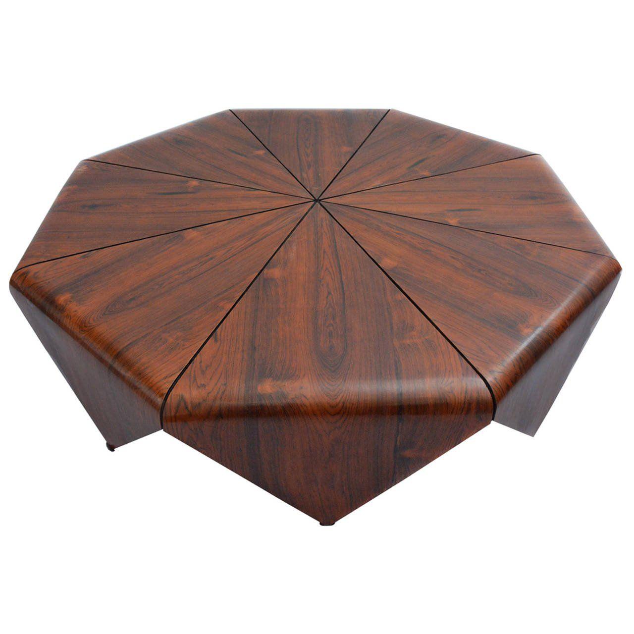 Quot Petalas Quot Octagonal Brazilian Jacaranda Coffe Table Metal Coffee Table Coffee Table Coffee Tables For Sale [ 1280 x 1280 Pixel ]