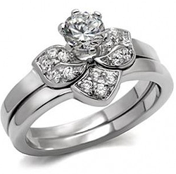 Sterling Silver AAA Grade CZ Ring