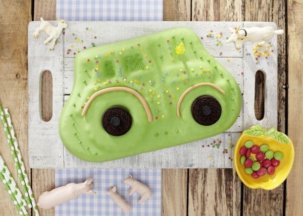 Kuchen, Bauernhof, Traktor, Kindergeburtstag, Tambini.de, Food: Sarah Brandt