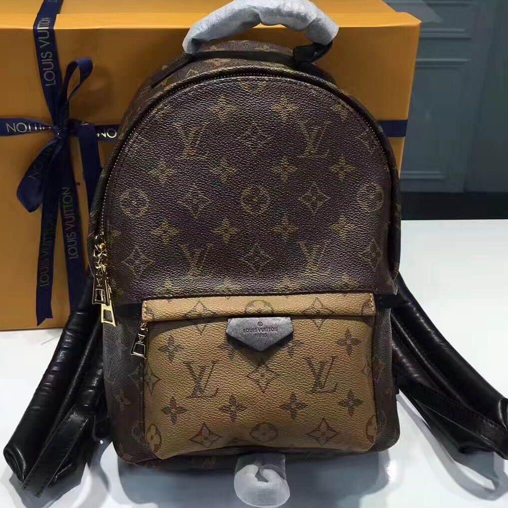704d0dd9c4 Louis Vuitton Palm Springs Backpack PM Monogram Reverse Canvas ...