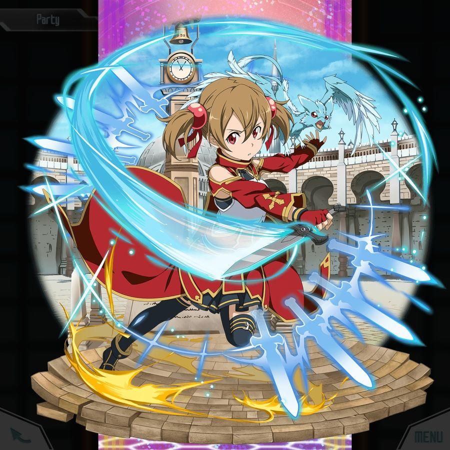 silica the courage to surmount sao md db sword art sword art online art