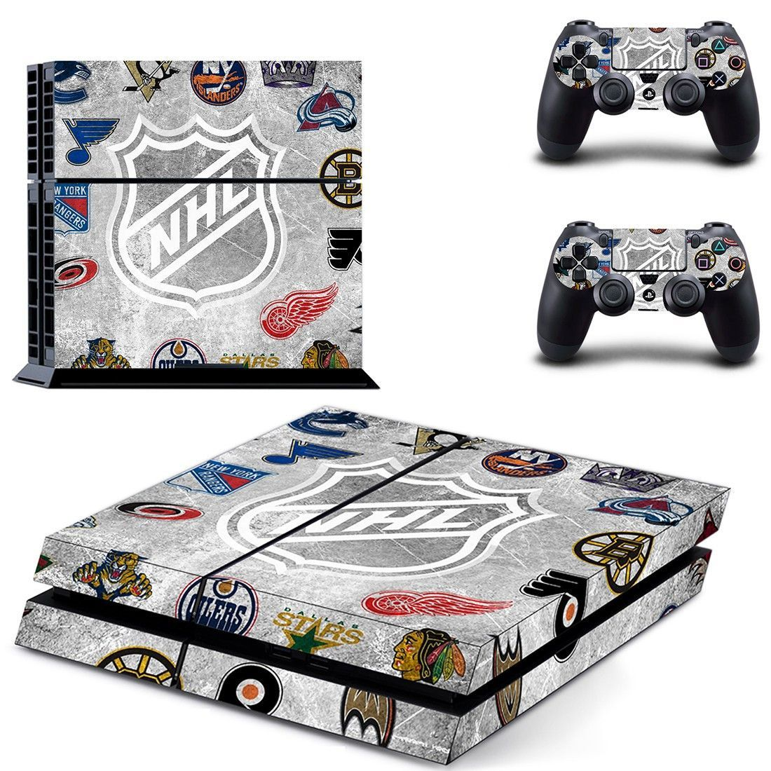 Hockey Nhl Ps4 Skin Decal For Console And Controllers Ps4 Skins Ps4 Skins Stickers Ps4 Skins Decals